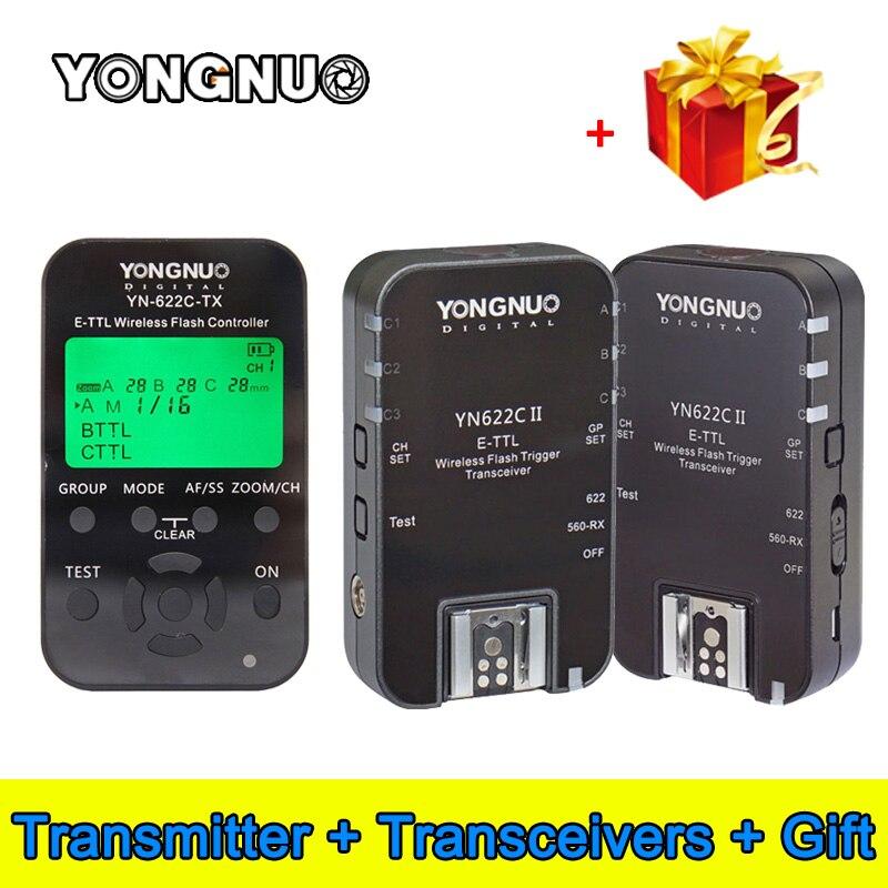 Yongnuo YN 622C TX YN622C TX LCD I TTL Wireless Flash Trigger Controller Transmitter for YN622C