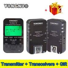 Y ongnuo YN-622C-TX YN622C-TXจอแอลซีดีI-TTL Wireless Flash Triggerควบคุมการส่งสัญญาณสำหรับYN622Cรับส่งสัญญาณรับสำหรับCanon