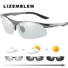 De alumínio E Magnésio óculos de sol Fotocromáticas mudança de cor Camaleão  Polarizada óculos de sol Dos Homens das mulheres dur. 8a1f3f12c5