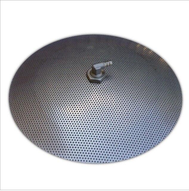 Diameter 30.4 cm Rvs Valse Bodem voor Homebrew Pot-Zet In een Mash Tun