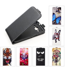 TPU Flip Leather case Voor Samsung Galaxy Core Prime VE SM-G361H G361H G360H G360 Back cover Mode Schilderen Cartoon Telefoon cover