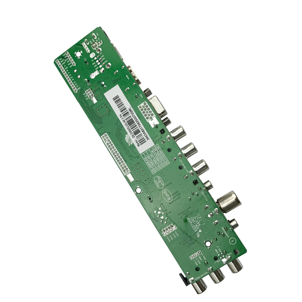 DS.D3663LUA.A81 DVB-T2/T/C digital TV 15-32 inch Universal LCD TV Controller Driver Board for 30pin 2ch,8-bit