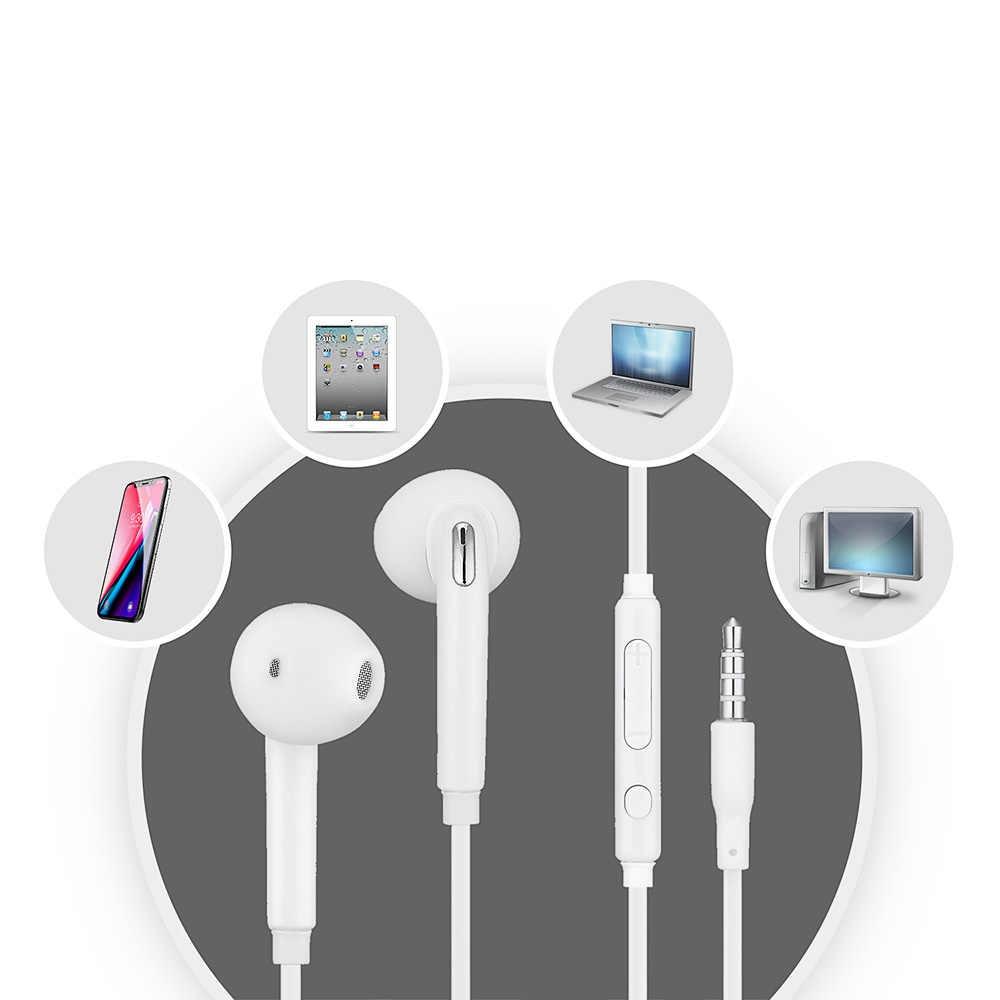 3.5 millimetri Stereo di Musica Auricolari Auricolare Portatile Wired Auricolare In-Ear no bluetooth con Microfono per Samsung S6/S6 Bordo
