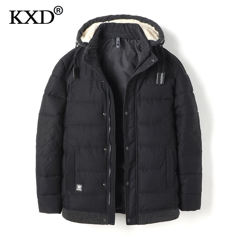 KXD 2017 Winter font b Jacket b font font b Men b font Fashion Design Brand