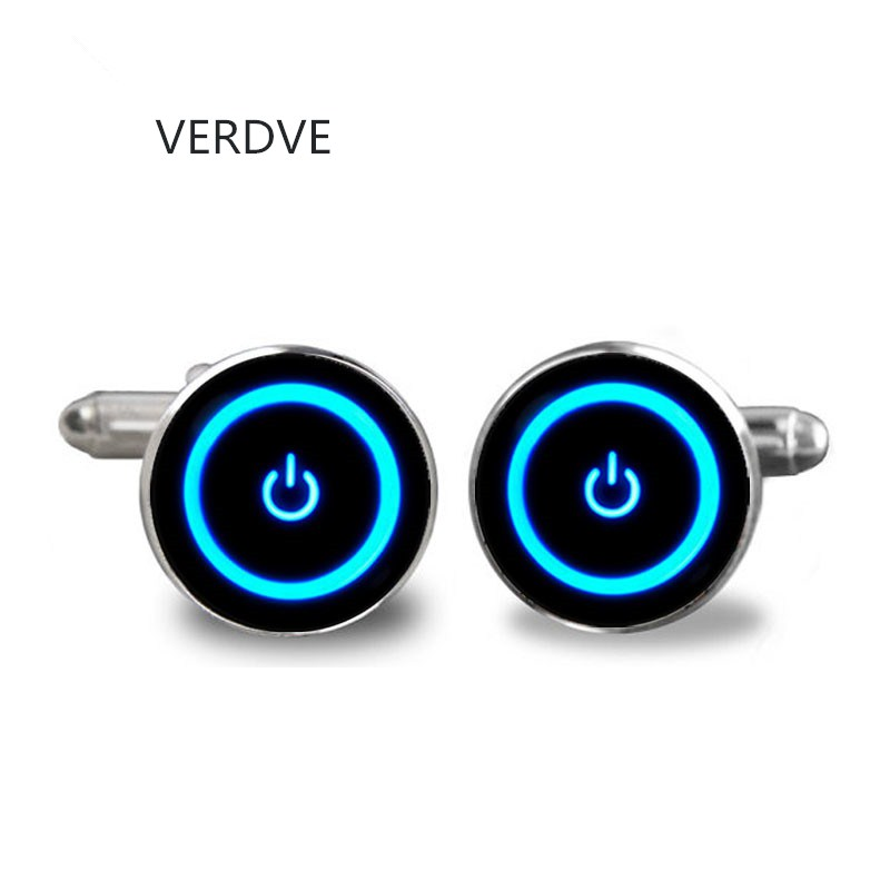 VERDVE 2018 Handcraft Jewelry Cufflink Shirt For Men Brand Cuff Buttons Cuff In From Wedding Glass High Quality On Off off shoulder tie cuff solid sweatshirt