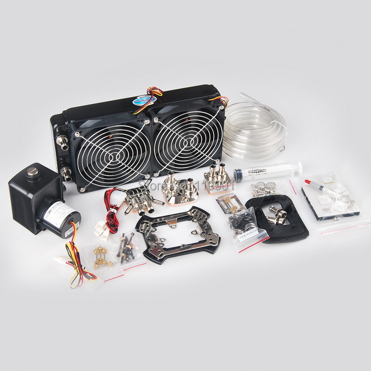 все цены на Syscooling SP23 water cooling kit for copmuter cpu and gpu онлайн