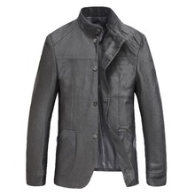 2016 New Arrival Autumn Winter Fashion Men Slim Fit Blazers Leisure Men Suit Jacket Blazer Masculino gray Plus Size M-2XL
