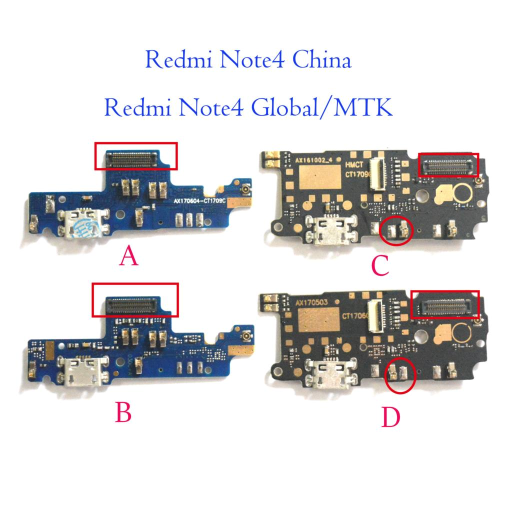 For Xiaomi Redmi Note 4 4x Global Usb Charger Charging