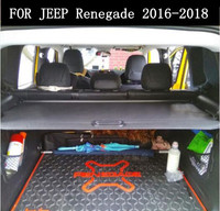 JIOYNG Car Rear Trunk Security Shield Cargo Screen Shield shade Cover Fits For Jeep Renegade 2016 2017 2018