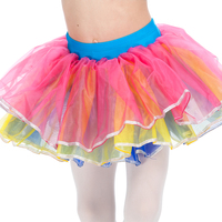 Retail Multi Color Half Tutu With Underpants For Performance All Sizes Available