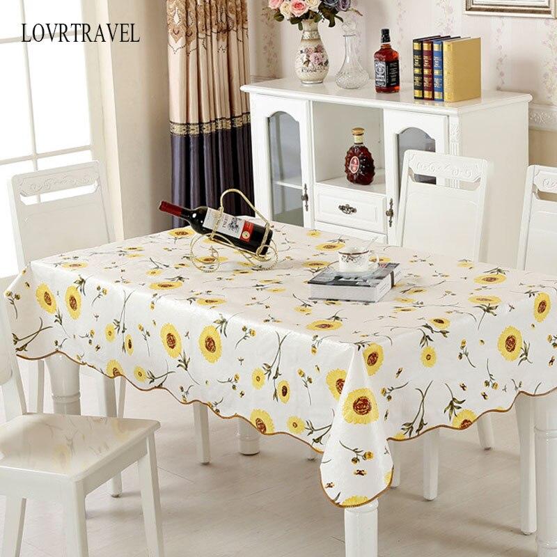 PVC toalha de mesa toalha de mesa À Prova D' Água D' Água toalha de mesa com padrão de cozinha óleo tampa de tabela toalha de mesa toalha de mesa de vidro macio