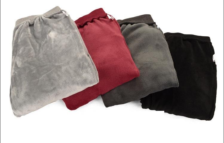 gris Algodón Casual Bordado Niños rojo Suelta Algodón Acolchado Engrosada Cálido Oscuro Estiramiento Gran Fleece De Tamaño Pantalones back gris Negro xx7wXaF