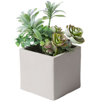 DIY Cube Concrete Flower Pot Silicone Mold Garden Planter Vase Mould Tools Crafts Succulent Bonsai Desktop Graden Supplies