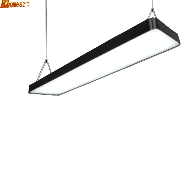 Hghomeart led ladders office pendant light rectangular hanging hghomeart led ladders office pendant light rectangular hanging lights simple fashion mall office general mozeypictures Choice Image