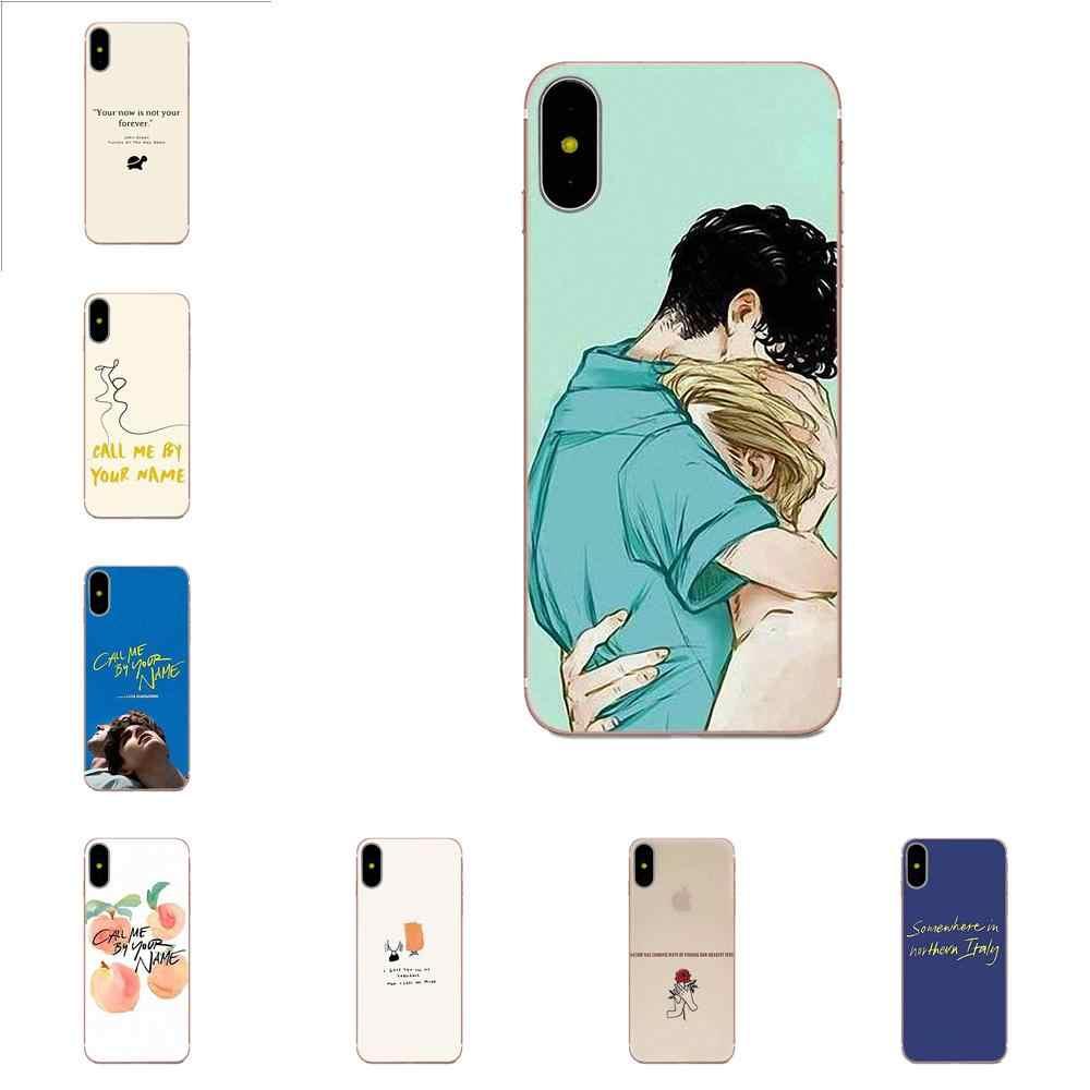 Call Me Da Il Vostro Nome Design Unico Più Nuovo La Cassa Del Telefono di Modo Per il iphone di Apple 4 4 S 5 5C 5 S SE 6 6 S 7 8 Più di X XS Max XR