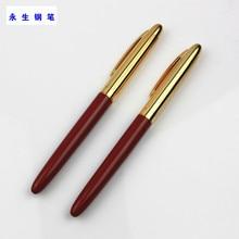 Wing sung Wings Античная иридиевая ручка 840 красный двойной цвет перо в штучной упаковке Аутентичные 90