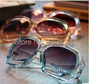 f8d027ef908 Free shipping 8 color latest Restro famous Brand Designer Transparent frame  Unisex men