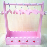 free shiping hot sale armoire /wardrobe/ garderobe/ clothespress for pet dog cat clothes display. with 5pcs Coat hanger