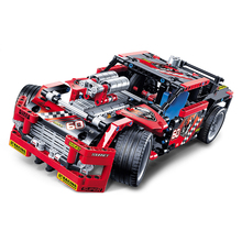 Christmas Gift 608pcs Race Truck Car 2 In 1 Transformable Model Building Block Sets Decool 3360
