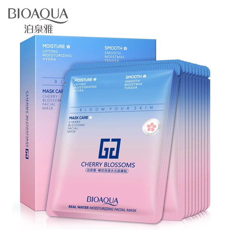 30pcs/lot Shuiguang Moisturizing Hydrating Facial Mask Face Masks Oil Control Skin pores to Brighten the Skin Care 30g