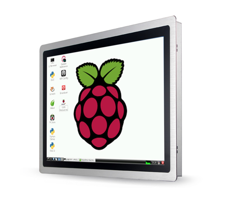 Industrial 12 inch metal case touch screen monitor with open frame ...