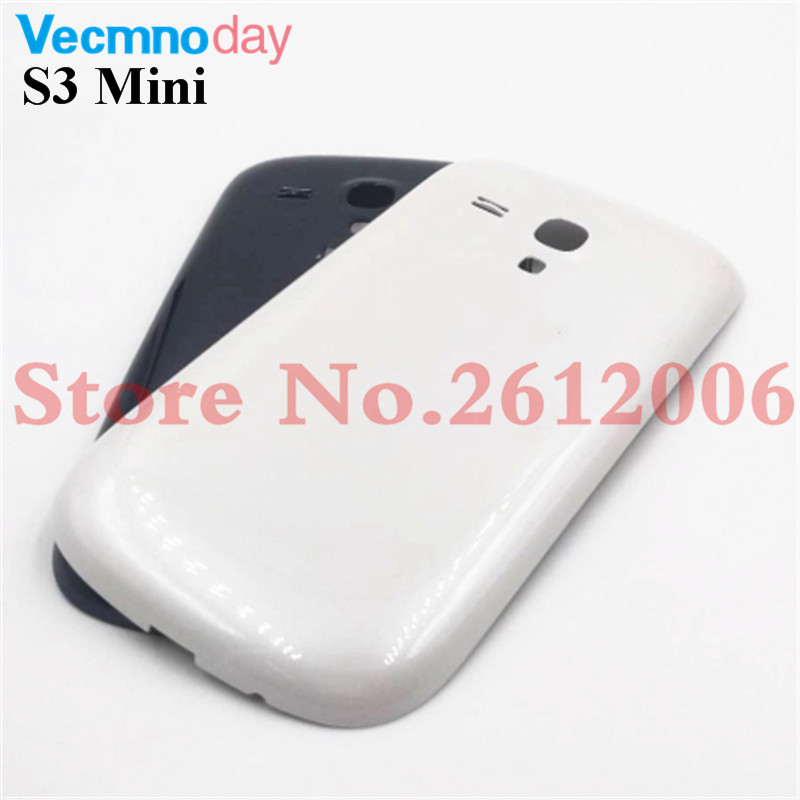 New Genuine For Samsung Galaxy S3 Mini <font><b>I8190</b></font> <font><b>Battery</b></font> <font><b>Back</b></font> Cover Rear Case For Samsung S3 Mini Door Housing image