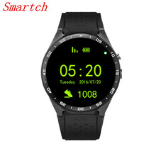 Smartch Wearable Devices KW88 smart watch For iPhone/Android 5.1 For xiaomi Quad-core 2.0MP camera 3G WIFI Smartwatch Heart Rate