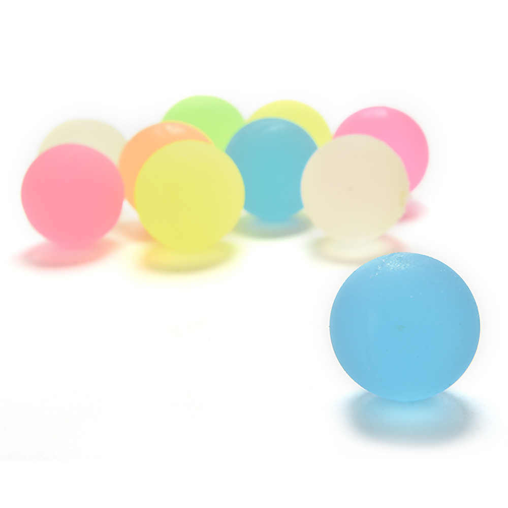 Citygirl 10Pcs/Set Rubber Solid Bounce Ball Kids Children Fun Bouncing Toy Party Favors