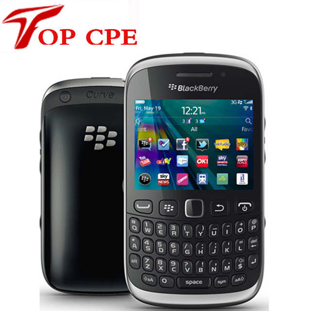 US $38 99 35% OFF|Unlocked BlackBerry Curve 9320 Original Mobile Phone GPS  WIFI GSM 3G Refurbished Phone QWERTY Keyboard WIFI 3 2MP Free shipping -in