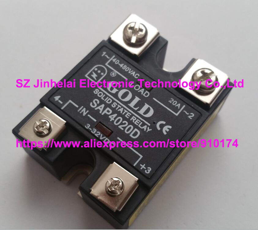 1PC GOLD Solid State Relays SAP4020D