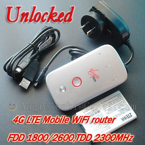 ZTE MF90C 3G 4G LTE FDD DRT 1800/2600/2300 MHz 100 m Mobile WiFi Modem Sans Fil Routeur Hotspot PK E5776S-601 B593S-601 E589u-12