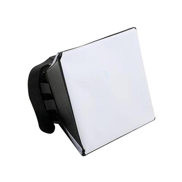 Nhiếp Ảnh di động Mềm Box Softbox Kit Flash Diffuser cho Canon Nikon Sony Pentax Olympus Sigma Minolta DSLR Speedlite Flash