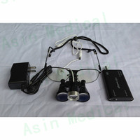 3.5X Dental supply surgical instruments dental loupes with led light DEASIN