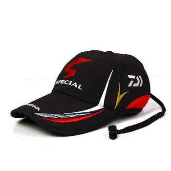 כובע מצחייה של חברת DAIWA יצרנית אביזרי הדיג