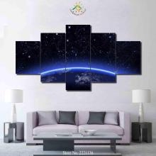 3-4-5 Pieces Constellation line Planet Large Canvas Art Wall Pictures Prints Artwork Decoration