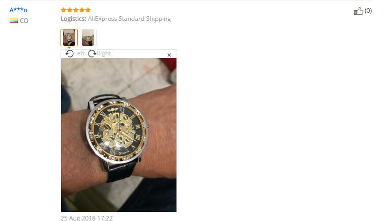 HTB11CptXojrK1RkHFNRq6ySvpXae Winner Black Golden Retro Luminous Hands Fashion Diamond Display Mens Mechanical Skeleton Wrist Watches Top Brand Luxury Clock