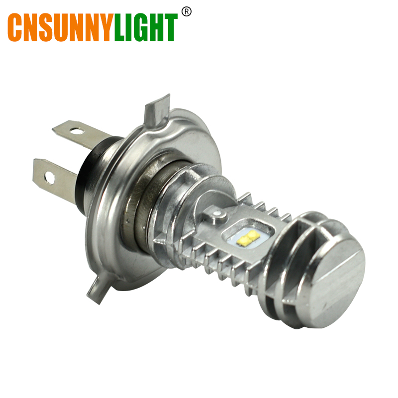 CNSUNNYLIGHT H4 P43t HS1 LED BA20D H6 Motorcycle Headlight Bulb 1080Lm H/L Lamp Scooter Accessories Moto DRL Lights For Suzuki