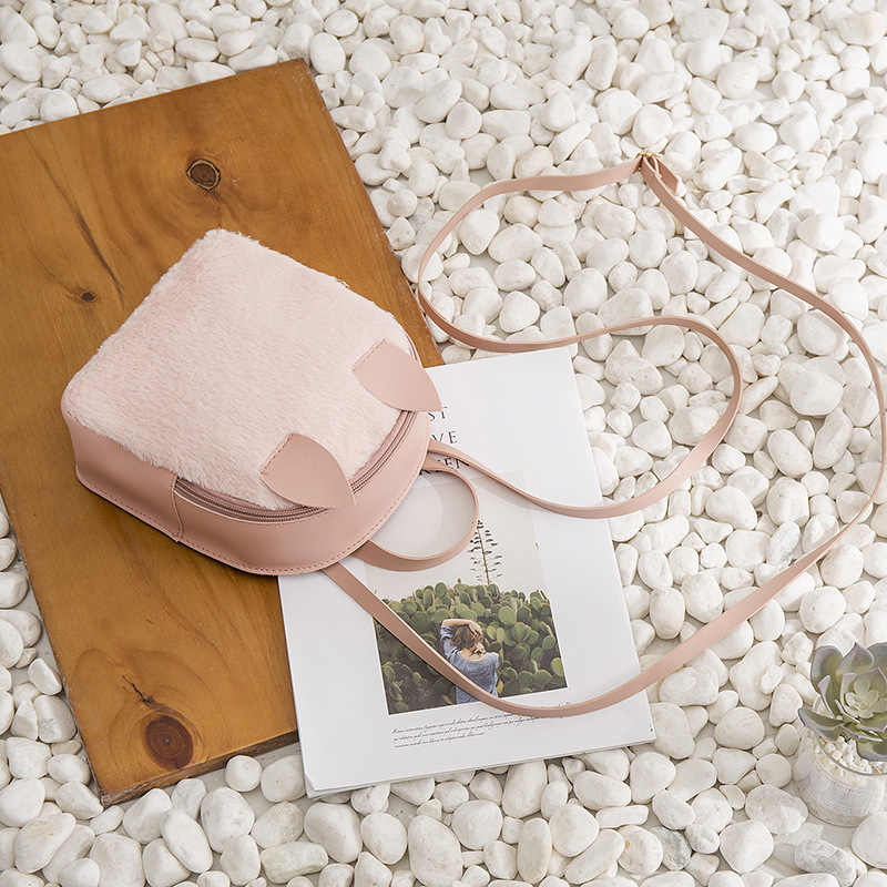 XZP Cute Small Backpack Women 2019 Fashion PU Leather Rabbit Ear Bagpack Female Mini Back pack for Girls Kid Lady Shoulder Bags