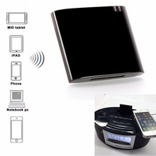 Portable Wireless Bluetooth Music Receiver Dock Adapter