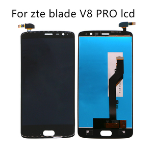 Image 1 - 5.5 inç LCD ekran için ZTE V8 PRO LCD cep telefonu aksesuarları Için ZTE Z978 dijital ekran 100% test iyi