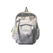 6816f3b9e77c 2019 Hong Kong Style School Bag Korean Harajuku Backpack Junior High School  High Capacity Backpack Girl