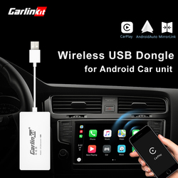 Carlinkit Wireless Smart Link Apple Внешний порт Carplay для Android навигации плеер Mini USB Carplay Stick с авто
