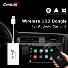 Carlinkit Wireless Smart Link Apple Внешний порт Carplay для Android навигации плеер Mini USB Carplay Stick с авто