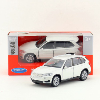Welly DieCast Metal Model/1:36 Scale/X5 Super Sport SUV Toy Car/Pull Back Educational Collection/For Children's Gift image