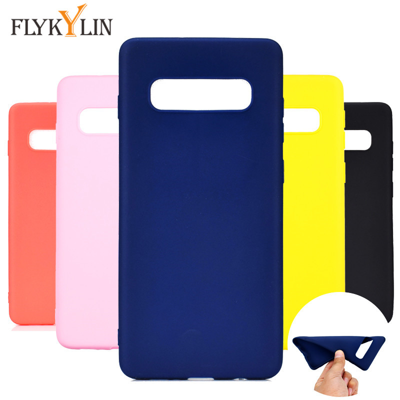 Buy Simple Solid Color Ultrathin Soft TPU Case for Samsung S8 S9 S10 Plus S10E S7 S6 Edge Case Cute Candy Color Silicone Cover Coque for only 1.25 USD