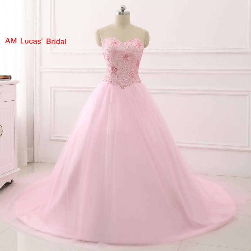 7b4c52bec9 Best Offer!!] Buy Pink 2017 Ball Gown Quinceanera Dresses Beading ...