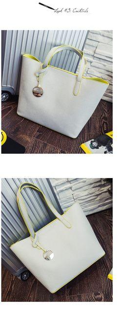 Online Shop Fashion Women PU Leather Handbags Large Shoulder Bags ... 4652381af58b2