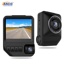 Car DVR Dual Lens Full HD 1080P 170 Degree Dash Camera16G Video Looping Recorder Night Vision Dash Cam for Car DVD Android 8.0(China)