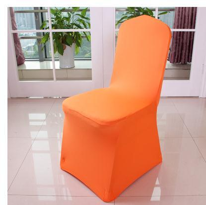 10 PCS/set elastic catering polyester/spandex lycra chair cover wedding party/banquet/white to celebrate