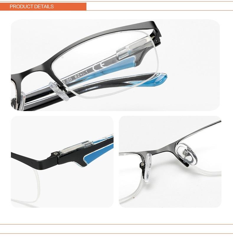 be875ef832 Gafas de lectura presbiópicas ultradelgadas flexibles para mujer gafas de lectura  sin marco + 1 + 1,5 + 2 + 2,5 + 3